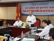 Création du Bureau permanent du comité de pilotage 389