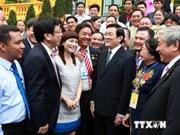 Le chef de l'Etat rencontre des dirigeants d'entreprises innovantes
