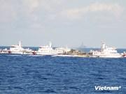 Les navires chinois entravent les navires chargés de l'application de la loi du Vietnam