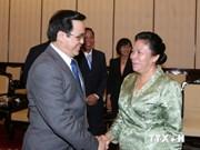 Une délégation du PPRL en visite du Vietnam