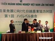 Dialogue de haut rang Vietnam-Japon sur le développement agricole