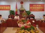 Tay Nguyen : Conférence-bilan sur le développement socio-économique au 1er semestre
