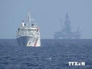 La Chine maintient un grand nombre de navires pour protéger sa plate-forme