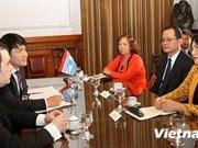 La vice-présidente de l'AN Nguyen Thi Kim Ngan en visite en Argentine