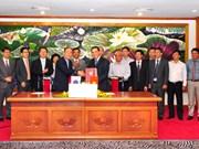Signature de deux accords de prêt d'APD du gouvernement sud-coréen