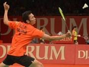 Badminton : Tien Minh, champion du tournoi élargi des Etats-Unis