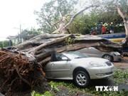 Philippines: le 1er typhon de la saison fait au moins 38 morts