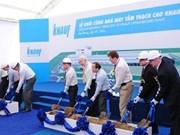 Construction d'une usine de plaques de plâtre de 30 millions d'euros à Hai Phong
