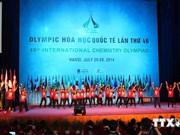 Ouverture des Olympiades internationales de chimie