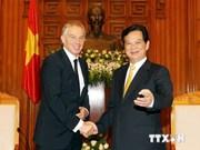 Nguyen Tan Dung reçoit l'ancien PM britannique Tony Blair