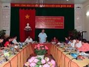 Le président du comité central du FPV à Phu Quôc