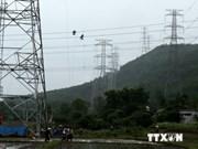 Mise en tension de la ligne électrique de 500kV Quang Ninh-Hiep Hoa