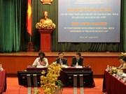 Dialogue de haut rang du groupe des partenaires financiers publics à Hanoi