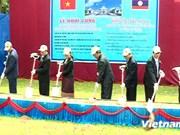 Construction d'un centre de réadaptation fonctionnelle au Laos