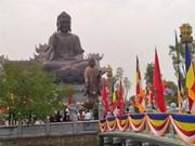 Inauguration d'un institut bouddhique Truc Lam à Nam Dinh