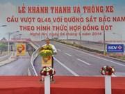 Un vice-PM inaugure un pont sur la RN46 à Nghê An
