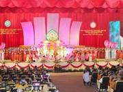 Une délégation de l'Alliance de l'Eglise bouddhique du Laos au Vietnam
