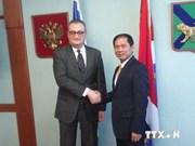 Vietnam-Russie : consultations politiques au niveau de vice-ministre