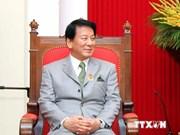 L'ambassadeur spécial Japon-Vietnam reçu par un haut responsable du PCV