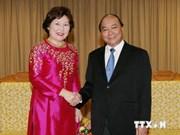 Un vice-PM reçoit la directrice de l'ONUDC au Vietnam