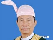 Le président du Parlement national du Myanmar arrive au VN