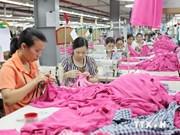 Exportations: le textile-habillement arrive en tête depuis janvier