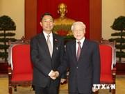 Nguyen Phu Trong reçoit le président du Parlement birman
