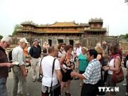 Forte croissance du nombre de touristes à Hue