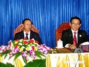 Les relations spéciales Vietnam-Laos renforcées encore et toujours