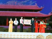 Le site historique des Tran de Dong Trieu reconnu site national spécial