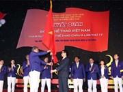 ASIAD 17 : cérémonie de départ de la sélection nationale