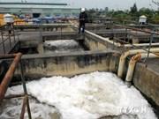 Mise en chantier d'un réseau de traitement des eaux usées à Tra Vinh