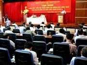 Accélération de la marche des projets du Vietnam au Laos