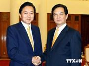 Le PM Nguyen Tan Dung apprécie les contributions de l'ancien PM japonais