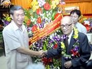 Nam Dinh célèbre le centenaire du Professeur Vu Khieu