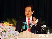 Le Premier ministre assiste à la rentrée scolaire de l'Académie de la Défense du Vietnam