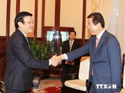 Le président de la Fédération sud-coréenne des coopératives agricoles au Vietnam
