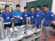 Aide saoudienne pour l'école professionnelle de Ha Nam