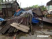 Le Nord réagit aux conséquences du typhon Kalmaegi