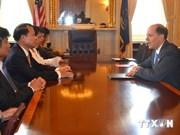 Vietnam et Etats-Unis oeuvrent pour renforcer leurs relations économiques et de commerce