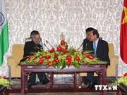 Le président indien en visite à Ho Chi Minh-Ville