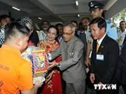 Le président indien achève sa visite au Vietnam
