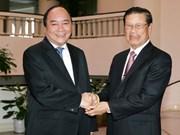 Un vice-Premier ministre laotien au Vietnam