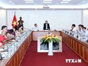 Le directeur général de la VNA reçoit des journalistes asiatiques