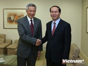 Le ministre de la Sécurité publique en visite à Singapour