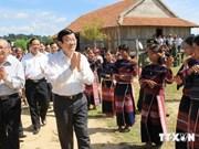 Le président souligne les fortes perspectives de Gia Lai