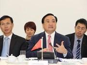 Le vice-PM Hoang Trung Hai en visite aux Pays-Bas