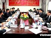 La Commission centrale de l'économie du PCV en mission au Laos