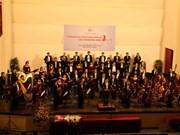 Des musiciens vietnamiens à la Semaine des orchestres d'Asie 2014