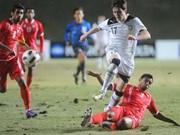 Football ASIAD 17 : le Vietnam en tête de la poule H